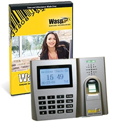 WaspTime V7 Pro With Biometric Clock, 100 User