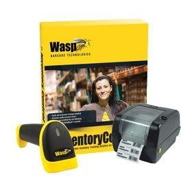 Wasp Inventory Control V7 Standard WWS550i Scanner WPL305 Barcode Printer