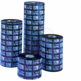 Wax/Resin Barcode Ribbon 110mm X 74 Meters