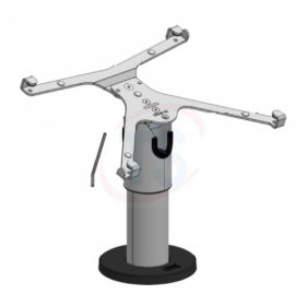 Spacepole X-Frame Mount iPad Air Blk