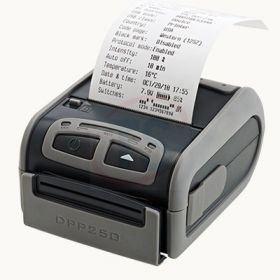 "4"" thermal mobile receipt/label printer, MFi-certified, battery operated, Bluetooth, WiFi"