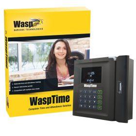 WaspTime V7 Enterprise W/ Barcode clock