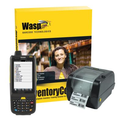 Wasp Inventory Control V7 RF Enterprise HC1 Mobile Computer WPL305 Barcode Printer