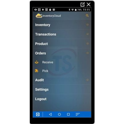 Wasp InventoryCloud Software Application and Mobile App- 1 Year - 5 Users and DR4 Mobile Computer