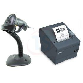 Epson TM-T88V Printer & Motorola LS2208