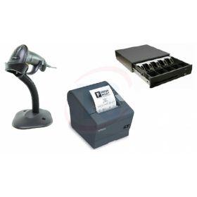 Epson TMT88V Printer, Motorola LS2208 and Posiflex FCR4100