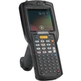 Motorola MC3200 w/Gun, 1D Laser512/2gb 48Key HC-Bat CE7