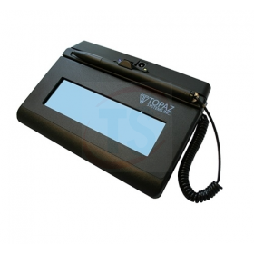 Topaz Siglite 1x5 Serial LCD Backlit