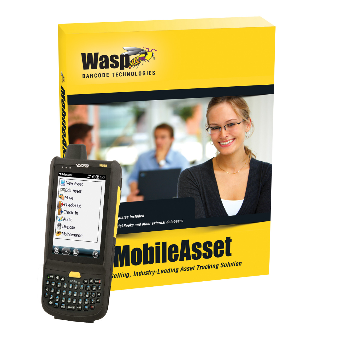 Wasp MobileAsset v7 Professional with HC1 and 6 hours Setup and Training Time - Discontinued