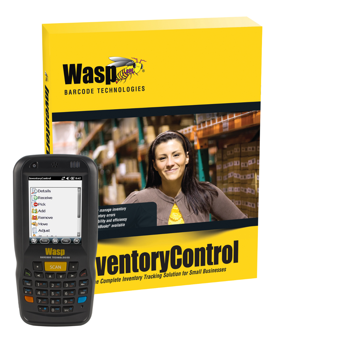 Inventory Control Standard with DT60 1D (1-user)